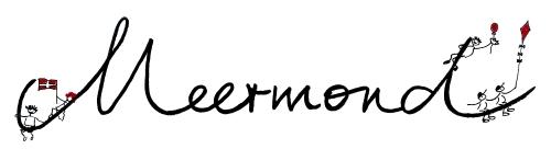 Schriftzug Meermond klein Bilderstempel