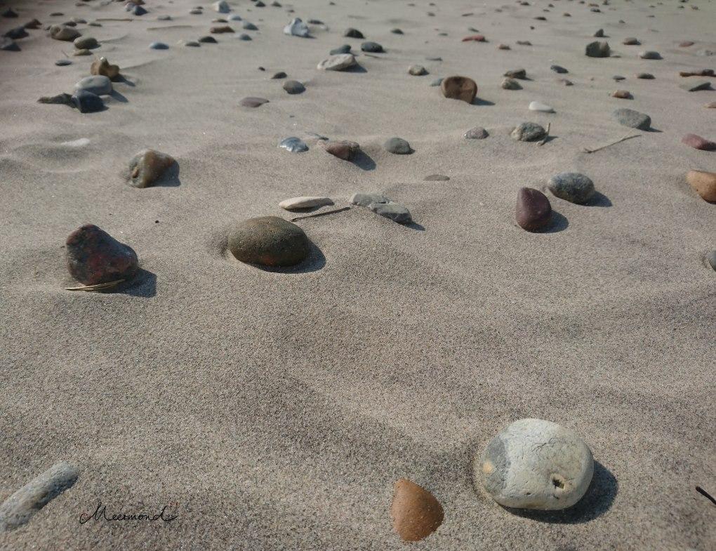 Tornby Strand Steine