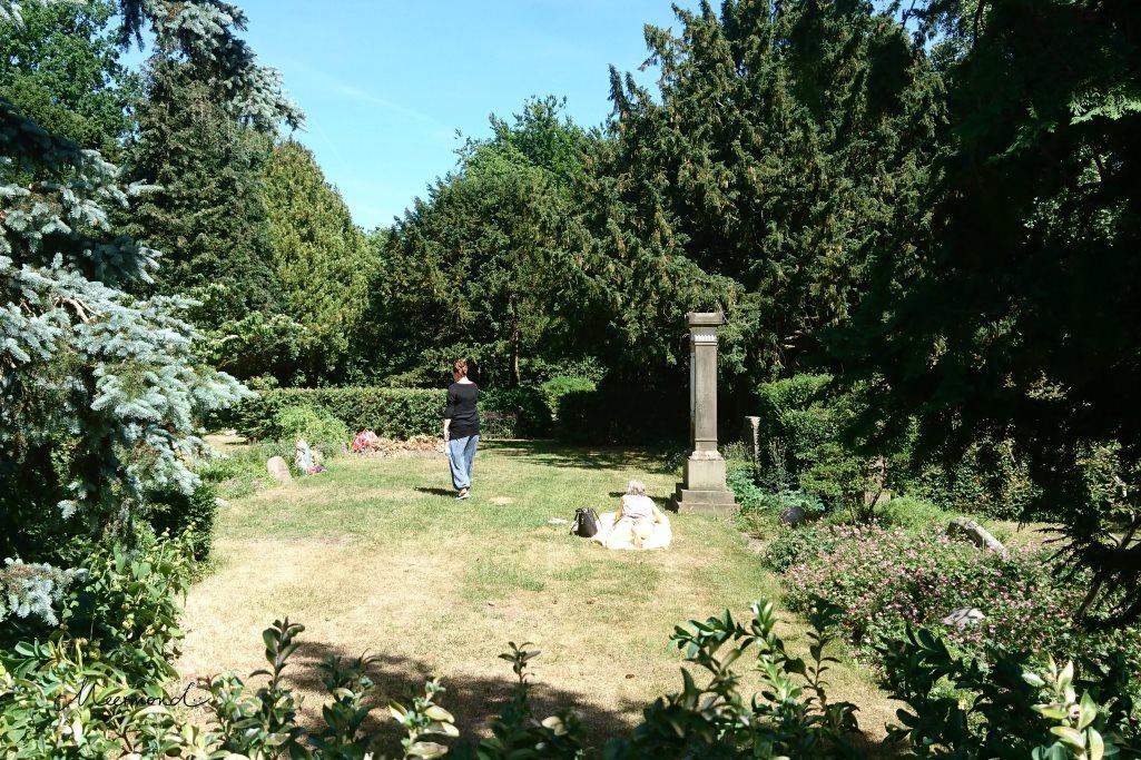 Friedhof Kopenhagen Assistens Kirkegaard
