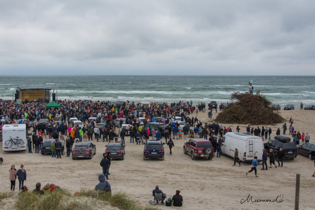 Strand Sonnwendfeuer Blokhus