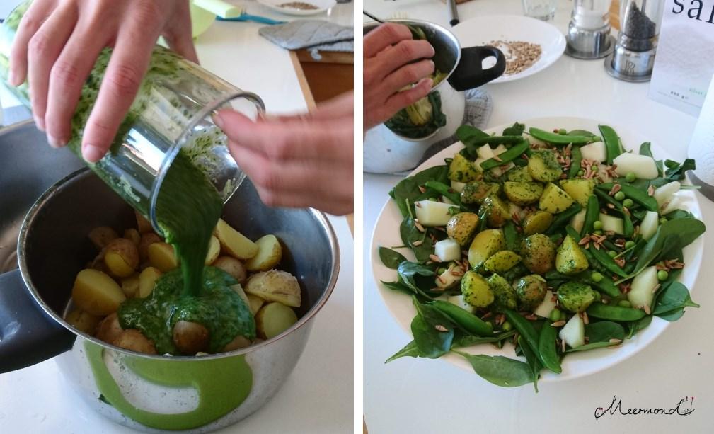 finnisches Rezept Kartoffeln Minze