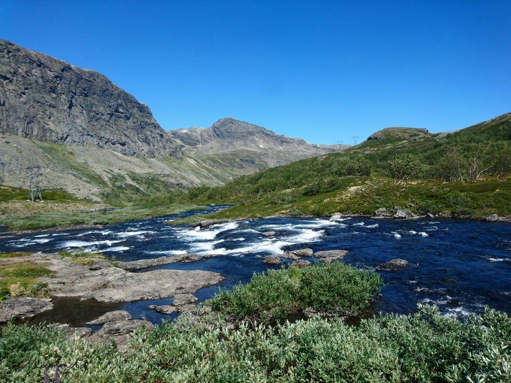 Fjell Norwegen Fluss