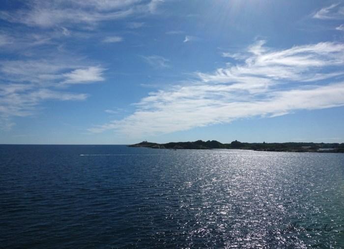 Larvik Hafen Fähre