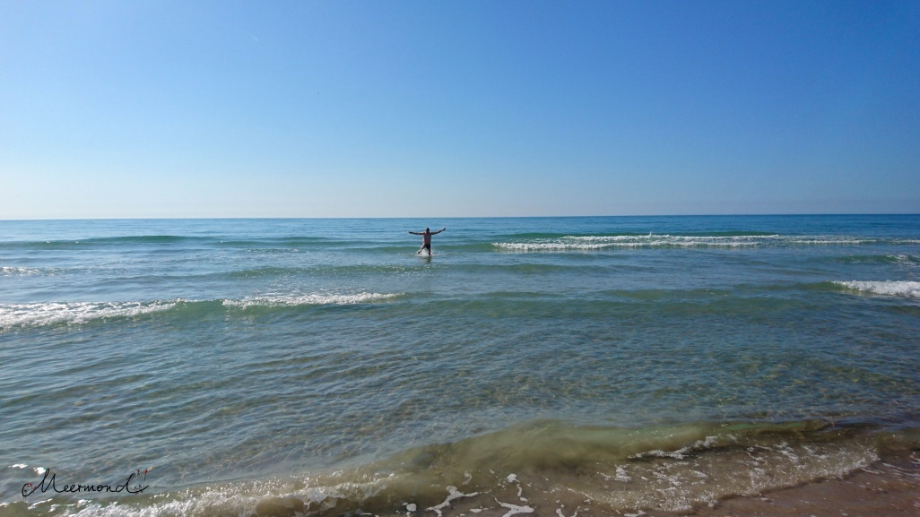 Nordsee Wellen Sommer Dänemark