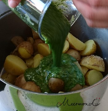 Pfefferminz Kartoffel Salat