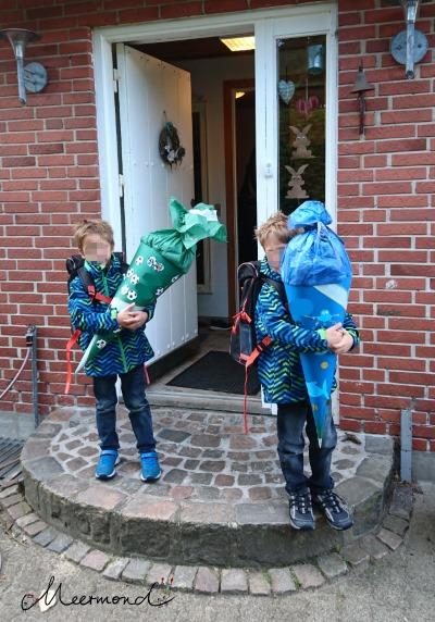 Einschulung Dänemark Schultüten