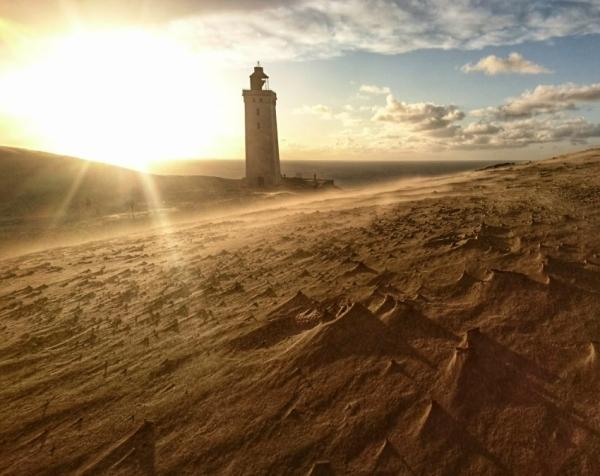 Skandinavien Foto Leuchtturm
