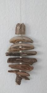 Treibholz Dänemark Kunst