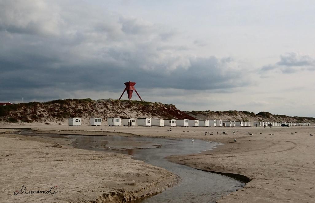 Blokhus Badehäuser Strand