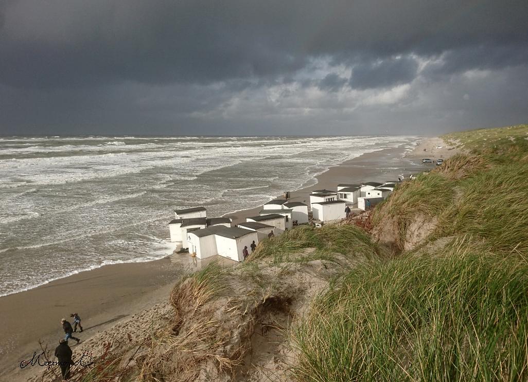 Sturm Knud Blokhus Strand