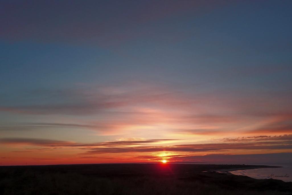Bulbjerg Sonnenuntergang Februar_17.41