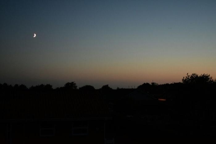 Juni Nacht hell Dänemark