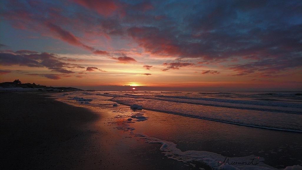 Løkken Sonnenuntergang Januar 16.11 Uhr