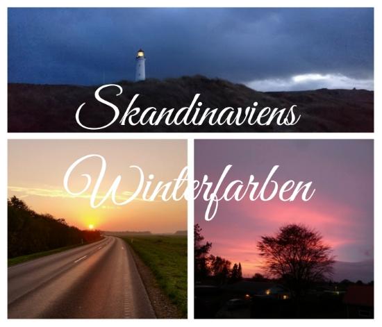 Skandinavien Winter Farben