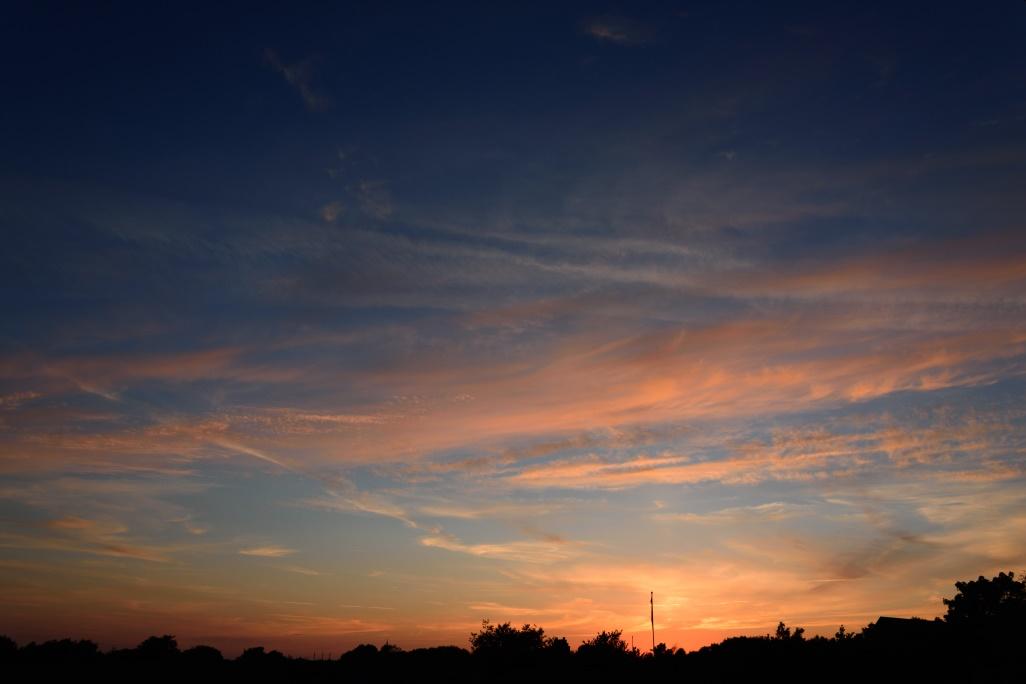 Sonnenuntergang Brønderslev Juni_22.10 Uhr