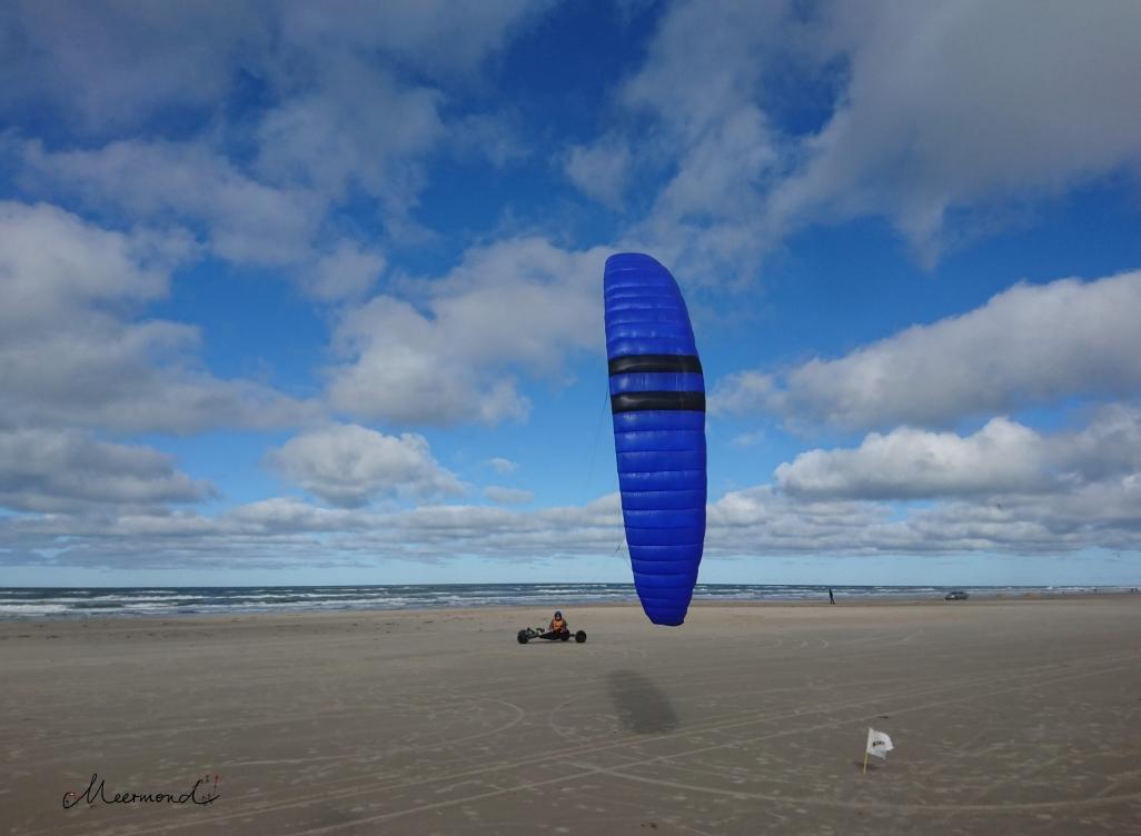 Strand Dänemark Kitebuggy