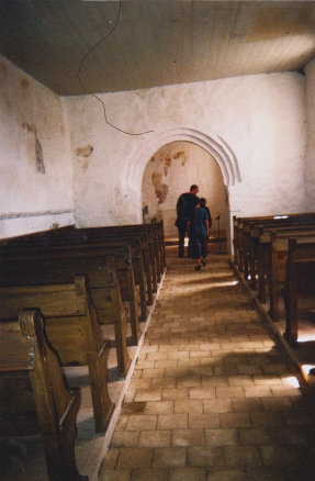 Mårup Kirke Innenraum